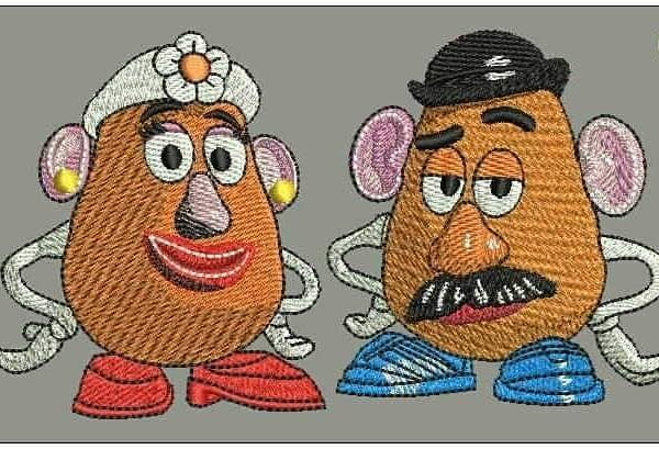 cartoon embroidery designs